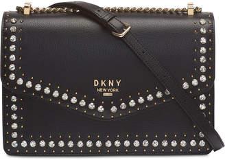 DKNY Whitney Studded Flap Shoulder Bag