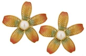 Couture Antiquities Fantasia Fiori Nested Simulated Pearl Earrings