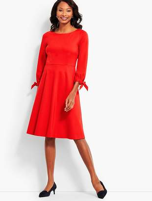 Talbots Refined Ponte Fit & Flare