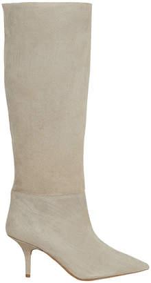 Yeezy Suede Beige Boots