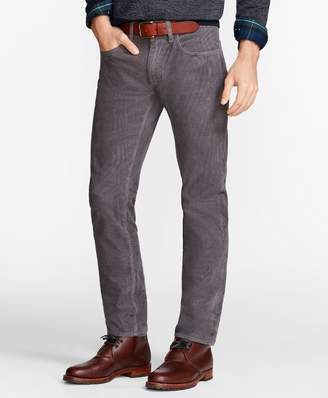 Brooks Brothers Garment-Dyed 15-Wale Stretch Corduroy Pants