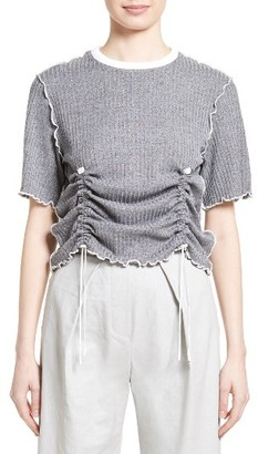 Women's Steventai Gather Inverted Tee $225 thestylecure.com