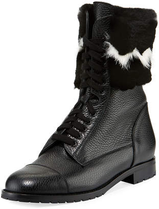 Manolo Blahnik Camp Chafur High-Top Boots