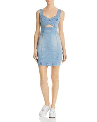 GUESS Sadie Body-Con Denim Dress