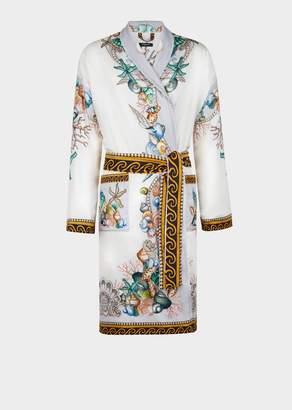 Versace Étoiles de la Mer Silk Robe
