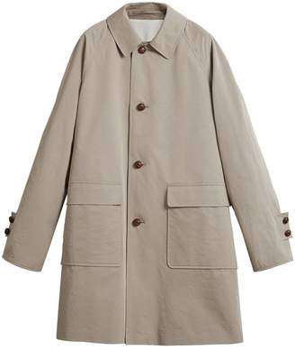Burberry Beige Reissued waxed gabardine car coat