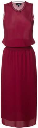 Theory elasticated waist dress