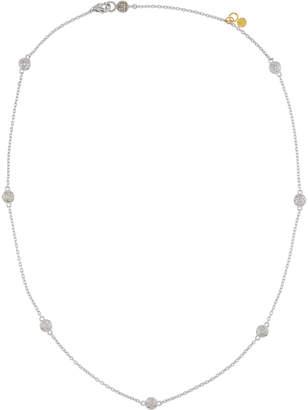 Gurhan Delicate Diamond Pave Station Necklace
