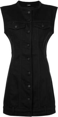 Alexander Wang denim buttoned dress