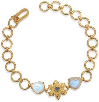 Emma Chapman Jewels - Elara Moonstone Aquamarine Bracelet