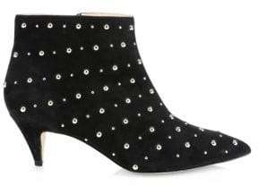 Kate Spade Starr Suede Ankle Boots