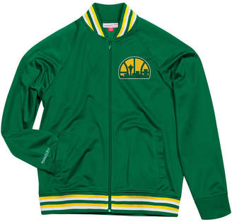 Mitchell & Ness Men's Seattle SuperSonics Top Prospect Track Jacket