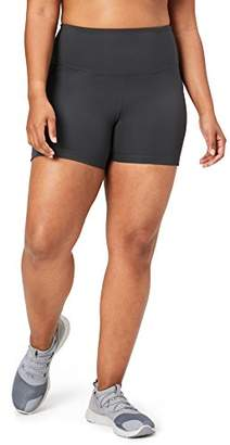 DAY Birger et Mikkelsen Core 10 Women's Plus Size Race High Waist Run Compression Short Pockets- 5""