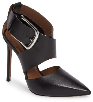 Topshop Women's Topshop Gallon Buckle Cutout Pump