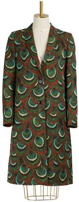 Dries Van Noten Jaquard coat