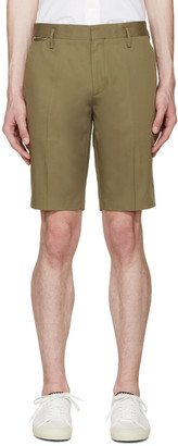 Marc Jacobs Green Cotton Shorts $650 thestylecure.com