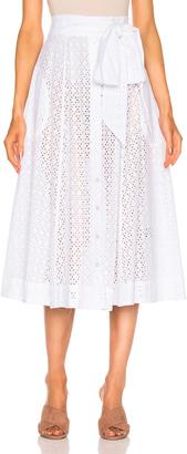 Lisa Marie Fernandez Beach Skirt $575 thestylecure.com