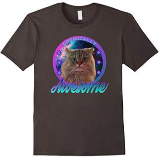Cosmically Awesome Alfred the Galactic Space Cat Fun T Shirt