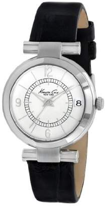 Kenneth Cole New York Women's KC2746 Classic Round Silver Dial Watch
