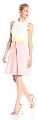 Erin Fetherston Erin Women's Colorblock Callie Crepe Knit Dress