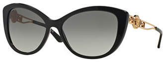 Versace Rock Icons 57mm Cat-Eye Sunglasses