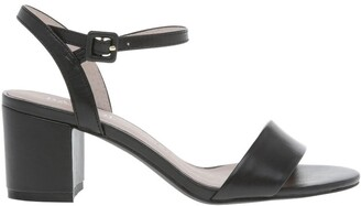 Basque Roma Black Leather Sandal