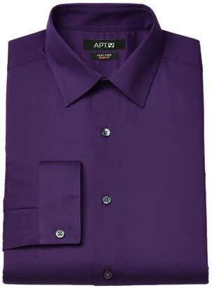 Apt. 9 Men's Slim-Fit Easy-Care Textured Dress Shirt