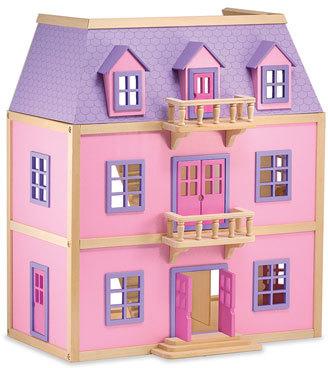 Melissa & Doug Toddler Wooden Dollhouse