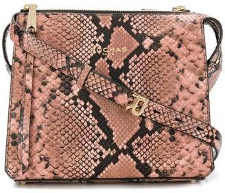 Rochas faux snakeskin shoulder bag