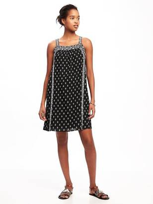 Embroidered Swing Dress for Women $44.94 thestylecure.com