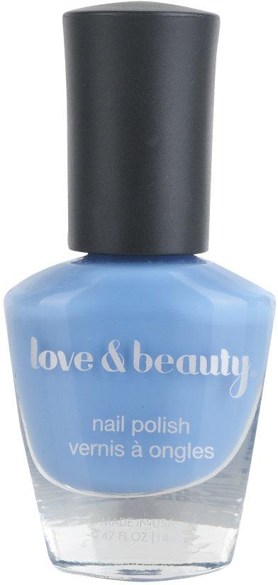 Love 21 Dusty Blue Nail Polish