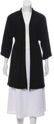 Adrienne Vittadini Knit Open Front Cardigan