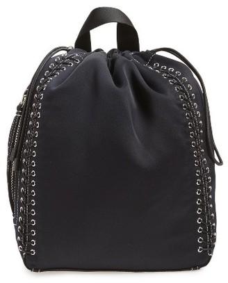 Phillip Lim 3.1 Medium Go-Go Lace-Up Backpack - Blue $495 thestylecure.com
