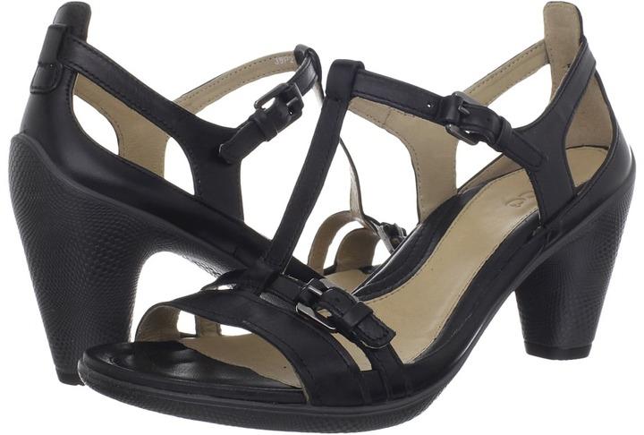 Ecco Sculptured 65 Sandal (Black) - Footwear