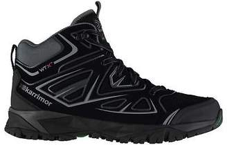 Karrimor Mens Surge Mid Walking Boots Lace Up Breathable Waterproof Padded Ankle