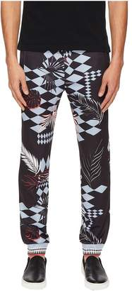 Versace Exploded Graphic Sweatpants Men's Casual Pants