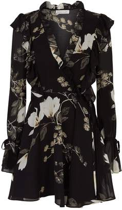 Shona Joy Harper Floral Ruffle Dress