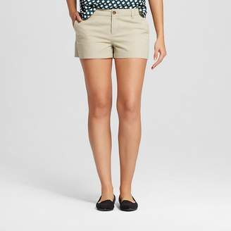 "Merona Women's 3"" Chino Shorts $19.99 thestylecure.com"