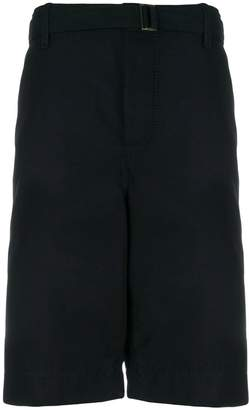 Sacai sheen bermuda shorts