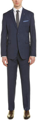 Original Penguin Wool-Blend 2Pc Suit
