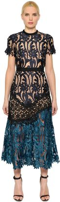 Prairie Patchwork Lace Midi Dress $497 thestylecure.com