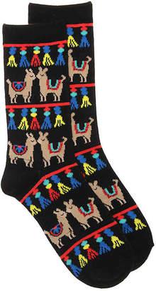 K. Bell Llamas Crew Socks - Women's