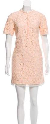 Diane von Furstenberg Crocheted Mini Dress Crocheted Mini Dress