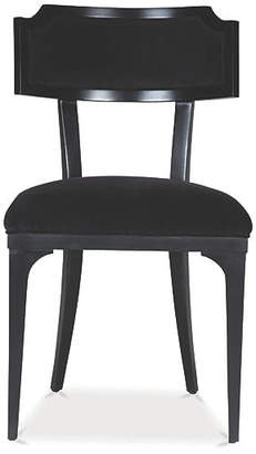 Kate Spade Worthington Side Chair - Ink Velvet