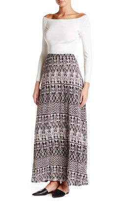 Joie Gamille Print Maxi Skirt $168 thestylecure.com