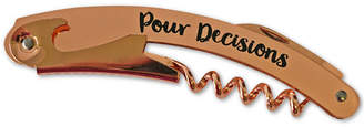 Tmd Holdings Pour Decisions Copper - Stainless Steel Double Hinged Corkscrew