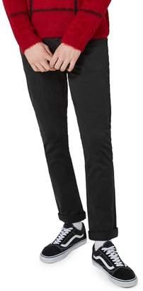 Topman 36-Inch Leg Stretch Slim Fit Chino Pants