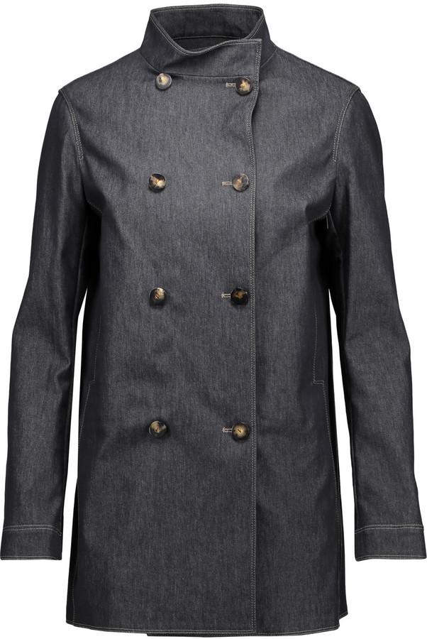 ValentinoValentino Double-breasted denim coat