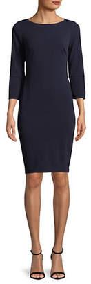 Calvin Klein Scuba Crepe Shift Dress