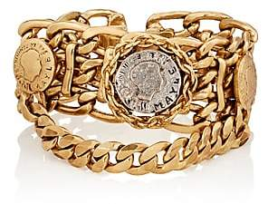 Mayle Maison Women's Siamese Rosette Bracelet-Gold
